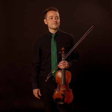 Samuel García García, violinista granadino de Bambú Ensemble, es violinista de la BOS