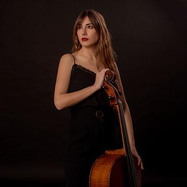 Irma Bau, violonchelista catalana, tiene una alta actividad en la música de cámara
