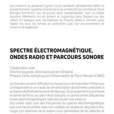 Livret PRÉSENCES p.3
