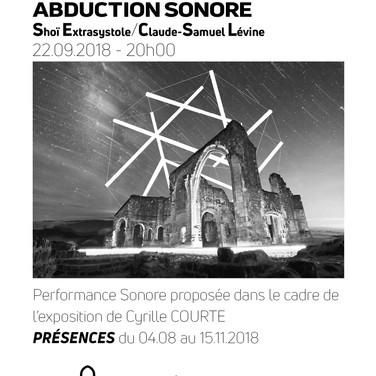 ABDUCTION SONORE 22.09.2018