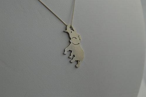 Joyful elephant pendant
