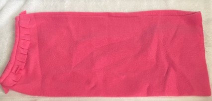Pink Polar Fleece Snood