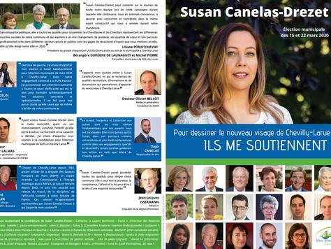 Valérie Pécresse, Hervé Morin... Ils soutiennent la candidature de Susan Canelas-Drezet