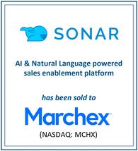 Sandfox Advises Sonar Technologies on its Sale to Marchex
