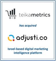 Sandfox Advises Teikametrics on its Acquisition of Adjusti.co