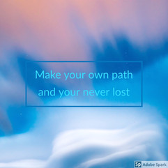 Make yout own Path...