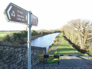 Cycling the Royal Canal
