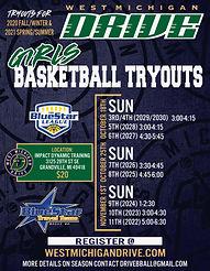 West Michigan Drive Basketball Tryouts