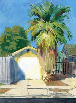 Garage palm