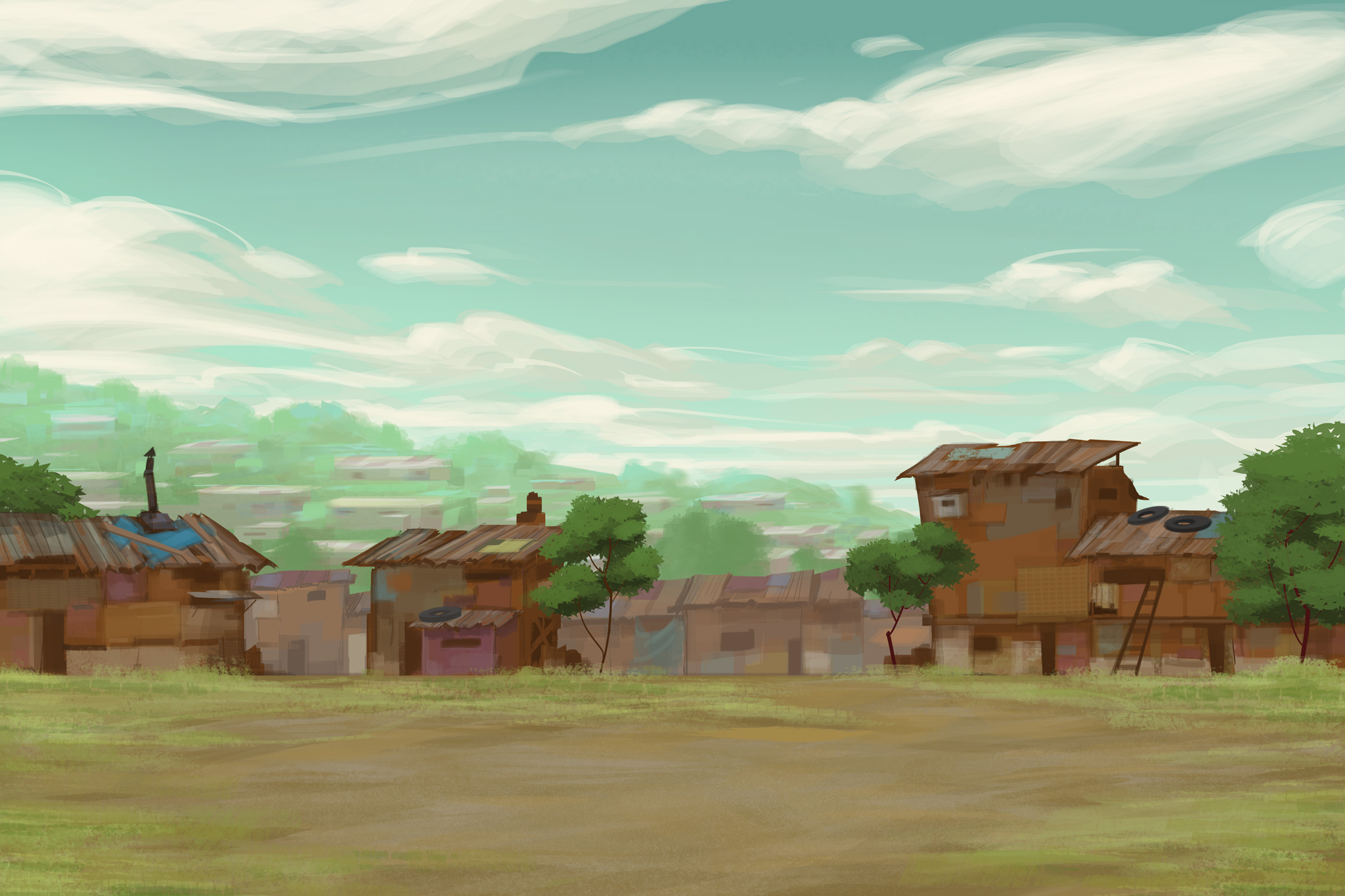 Shanti town