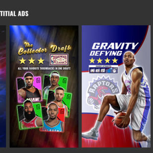 NBA BallStars: Interstitial Ad set