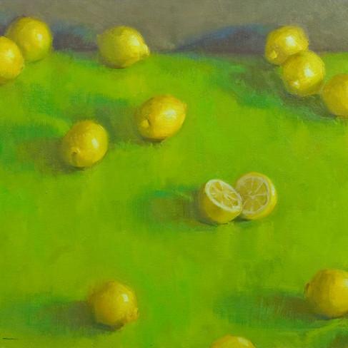 lemons on lime