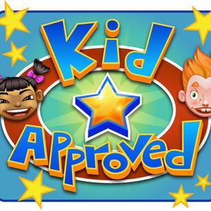 Kids approved logo