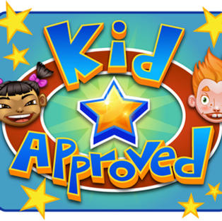 Kids approved logo