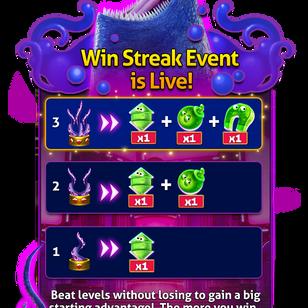 Win Streaks Popup Mock up