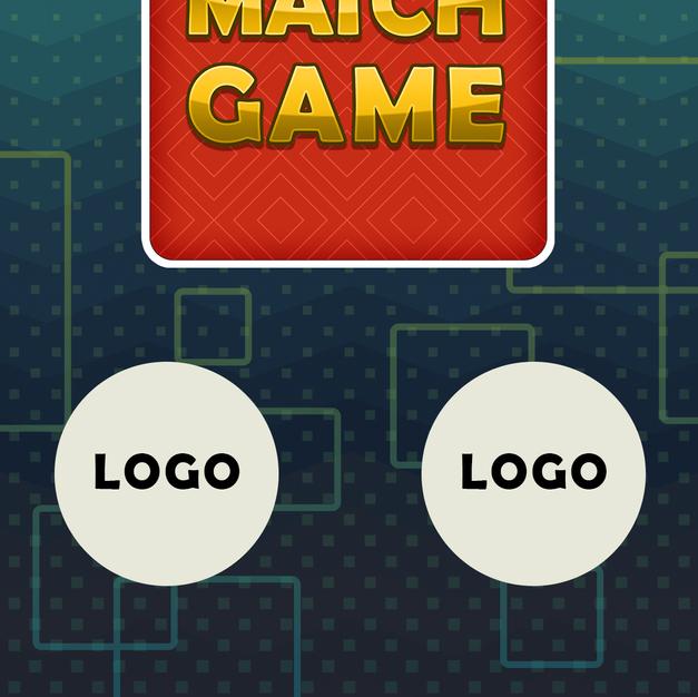 Match game logo and loading bar
