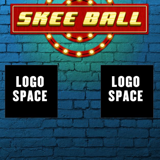 Skee Ball logo and loading bar