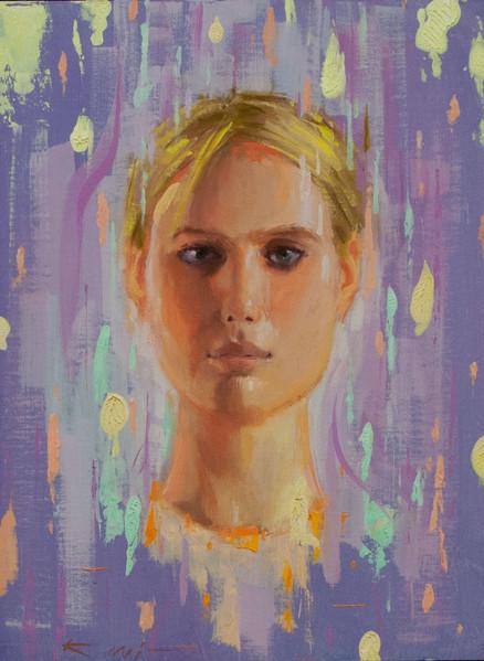 color patch portrait