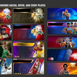 NBA BallStars: Gacha, Offer, and EventPlates