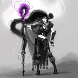 Wizard concept for Dungeon siege
