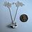Thumbnail: Happy dolphin pendant, silver