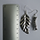 Thumbnail: Caterpillar and leaf earrings