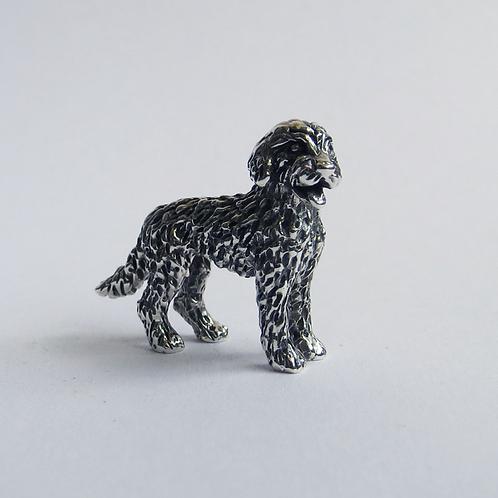 Labradoodle figurine