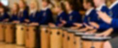 School Drumming Workshop photo by Jenny Harper