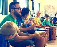Family Drumming