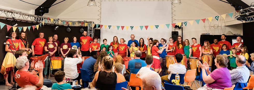 Summer Samba Showcase photo by Jenny Harper