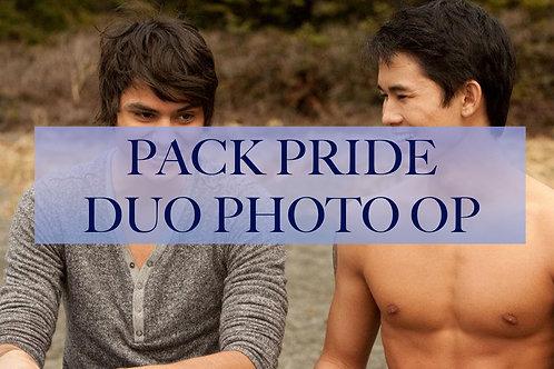Pack Pride Duo Photo Op