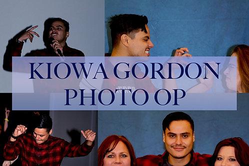 Kiowa Gordon Photo Op