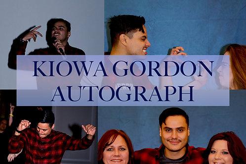 Kiowa Gordon Autograph