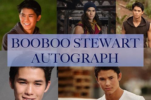 Booboo Stewart Autograph