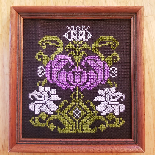Icelandic Flower Embroidery