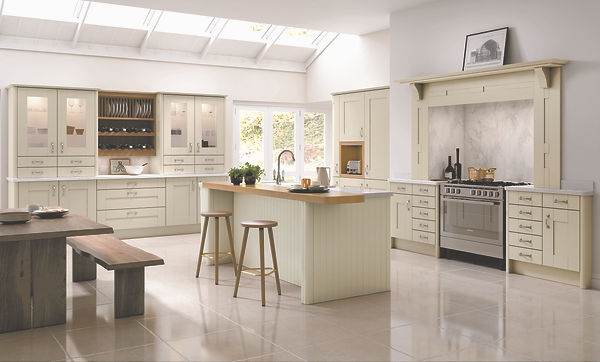 Cartmel Doors in Mussel from The Kitchen Island