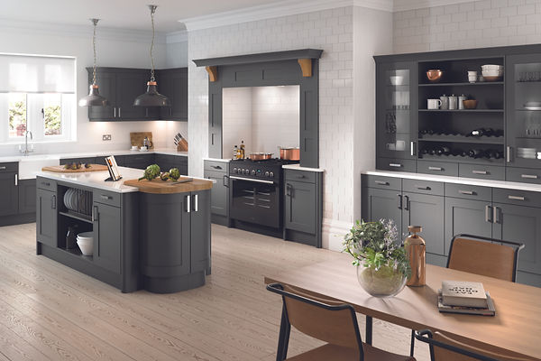 Oxford Doors in Anthracite from The Kitchen Island