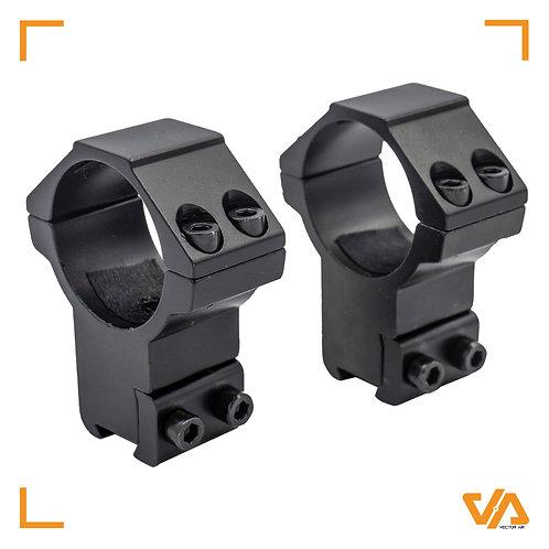 Vector Optics 2 Piece High Scope Mounts