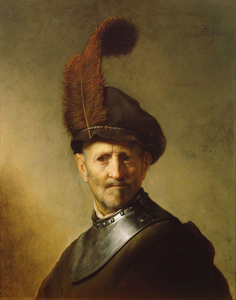 806px-rembrandt_harmensz-_van_rijn_dutch_-_an_old_man_in_military_costume_-_google_art_project