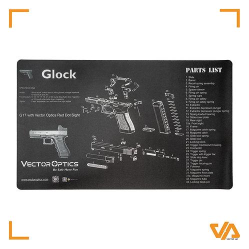 Glock 17 Maintenance Mat