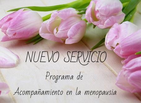 Programa de Acompañamiento en la menopausia