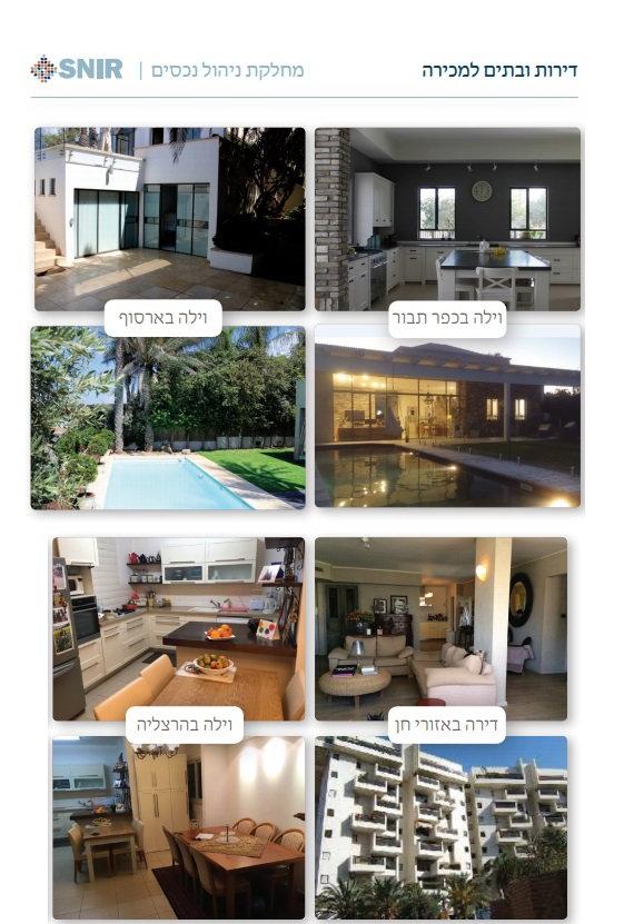דירות ובתים למכירה