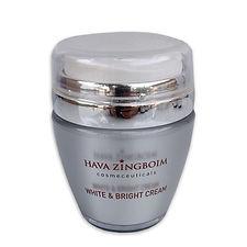 White&Bright cream   קרם וואיט אנד ברייט   קרם פנים הבהרה לטיפול בפגמנטציה
