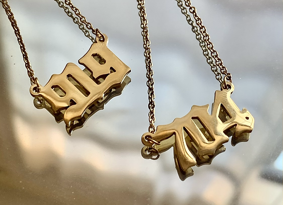 Rep Your Set Necklace