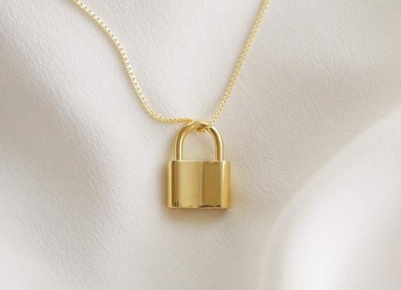 Lock it Down Necklace