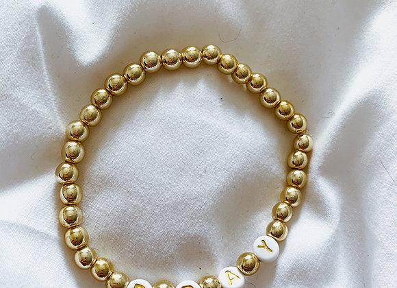 Custom Manifest Bracelet