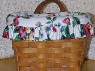 Vintage 1993 Longaberger Ambrosia Booking Basket