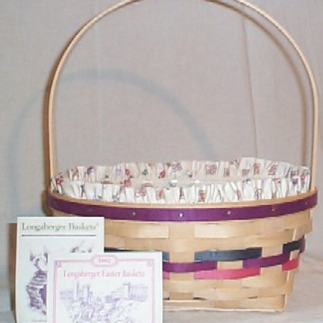 Vintage Natural Easter Basket