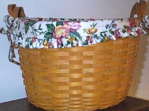 Vintage 1992 Longaberger Hostess Wildflower Basket