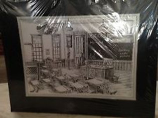 Black & White School Room numbered print by Tommy Fulton Del City ,Oklahoma